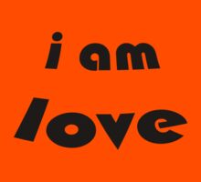 """i am love"" T-SHIRT by whittyart"