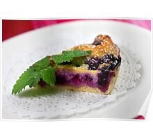 Blueberry Tarte  Poster