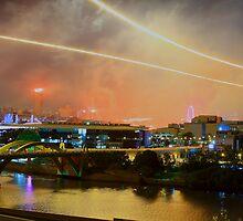 Brisbane - River Fire 2009 by Mike Doran