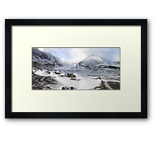 Early Winter in The Rockies #1 Framed Print