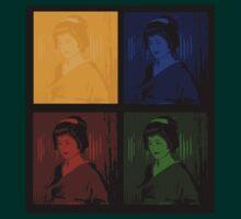 Warhol's Geishas by Louise Fahy