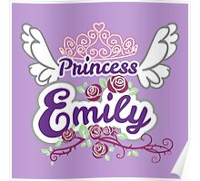 Princess Emily - Custom Cute Princess Poster