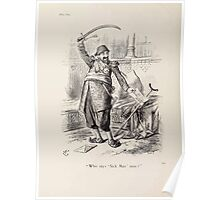 Cartoons by Sir John Tenniel selected from the pages of Punch 1901 0162 Who Says Sick Man Now Poster