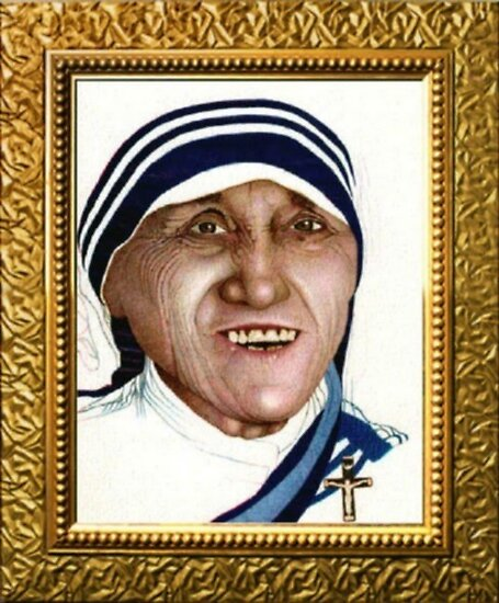 Mother Teresa  by Jerry  Stith