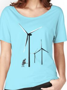 Wind Farm Women's Relaxed Fit T-Shirt