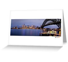 Sydney Night Greeting Card