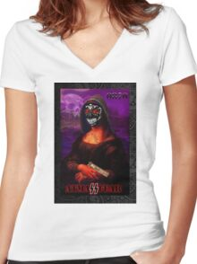 Cartel-Liza 0870 Women's Fitted V-Neck T-Shirt