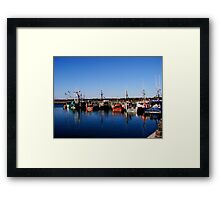 Sagamoure Marina Framed Print