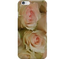 Say it with roses iPhone Case/Skin