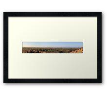 Karratha, Western Australia Framed Print