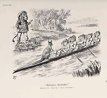 Cartoons by Sir John Tenniel selected from the pages of Punch 1901 0111 Advance Australia by wetdryvac