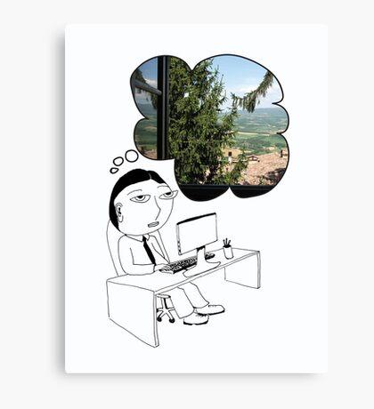 Pod Daze - Ah Italia! Canvas Print