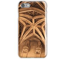 Gothic ceiling iPhone Case/Skin