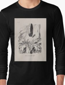 Cartoons by Sir John Tenniel selected from the pages of Punch 1901 0099 Panic Amongst the Pigs Long Sleeve T-Shirt