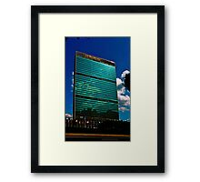 The United Nations Building Framed Print