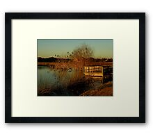 My Corner Of The World ~ Part One Framed Print