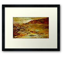 Little Waterloo Bay  Framed Print