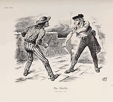 Cartoons by Sir John Tenniel selected from the pages of Punch 1901 0171 The Duello by wetdryvac