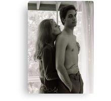 """Susan & Chris Sarandon"" Vintage 1968 Canvas Print"
