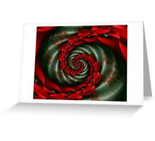 SPCH2 Michelle Image 2 Red Flowers + Parameter Greeting Card