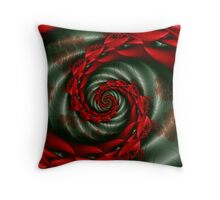 SPCH2 Michelle Image 2 Red Flowers + Parameter Throw Pillow