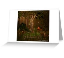Deep in the Dryad Forest Greeting Card