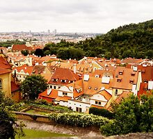 Prague. Top view by Xinnie