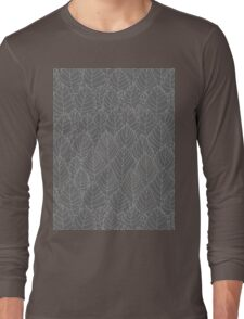 Pattern with leaves Long Sleeve T-Shirt