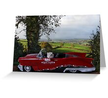 Sunday Driver! Greeting Card