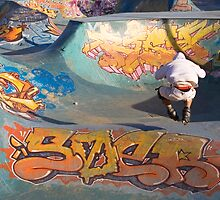 Jumping roller by Martine Affre Eisenlohr