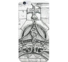 Mosteiro da Batalha sketch iPhone Case/Skin