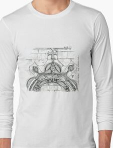 Mosteiro da Batalha sketch Long Sleeve T-Shirt