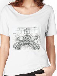 Mosteiro da Batalha sketch Women's Relaxed Fit T-Shirt