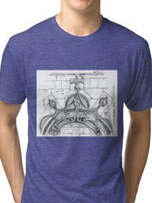 Mosteiro da Batalha sketch Tri-blend T-Shirt