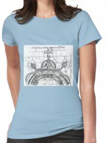 Mosteiro da Batalha sketch Womens Fitted T-Shirt