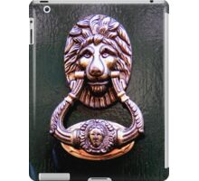 Knock on wood iPad Case/Skin