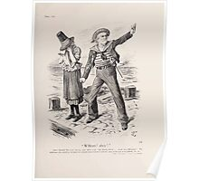 Cartoons by Sir John Tenniel selected from the pages of Punch 1901 0147 William Ahoy Poster