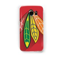 Chicago Blackhawks Minimalist Print Samsung Galaxy Case/Skin