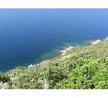 Sea view from Filicudi Photographic Print