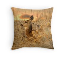Dear Deer Throw Pillow