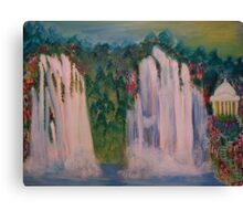 Temple In The Forest Canvas Print