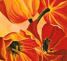 A Beautiful Bouquet - Tulips by Gigi Butterfly Hoeller