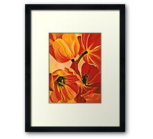A Beautiful Bouquet - Tulips Framed Print