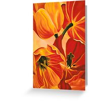 A Beautiful Bouquet - Tulips Greeting Card
