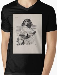Cartoons by Sir John Tenniel selected from the pages of Punch 1901 0145 Silent Mens V-Neck T-Shirt