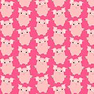 Cute Curious Cartoon Pigs Accessories by Cheerful Madness!! by cheerfulmadness