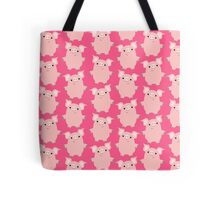 Cute Curious Cartoon Pigs Accessories by Cheerful Madness!! Tote Bag