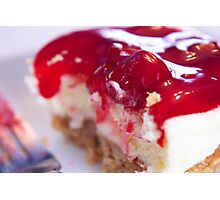 Mini cheesecake(90) Photographic Print
