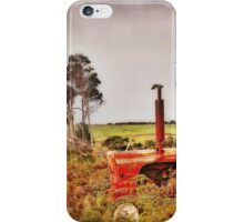 Reluctant Harvester iPhone Case/Skin