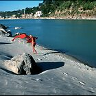 Ganga River Rishikesh India by Mathieu Grandjean